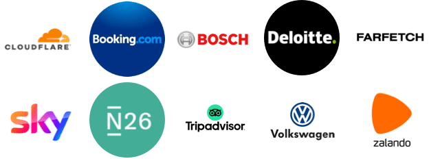 Join this list of great companies
