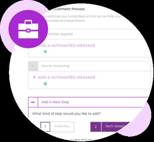 Customizable hiring process
