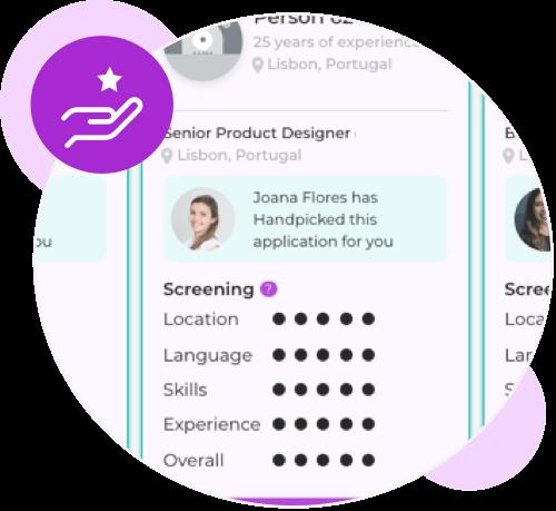 Handpicked Applications
